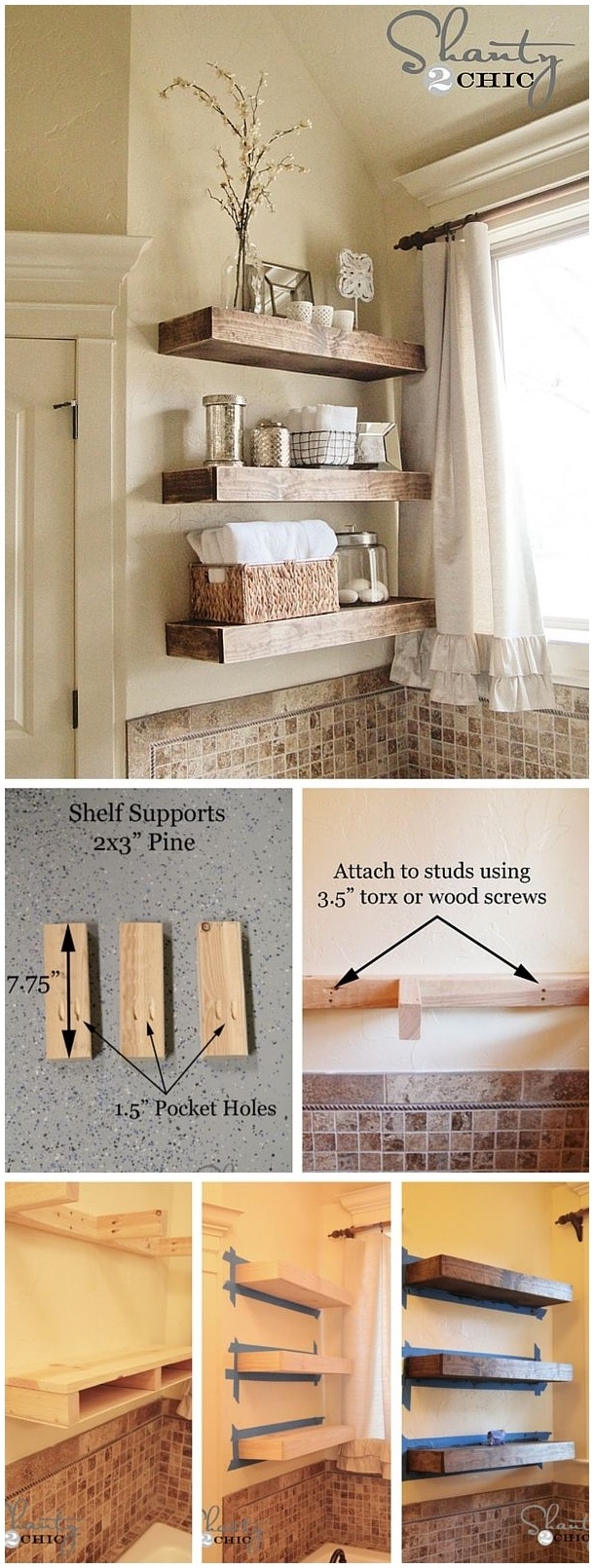 Trend Floating Shelf Decorating Ideas Modern Shelf Storage And Within 40cm Floating Shelf (Image 14 of 15)