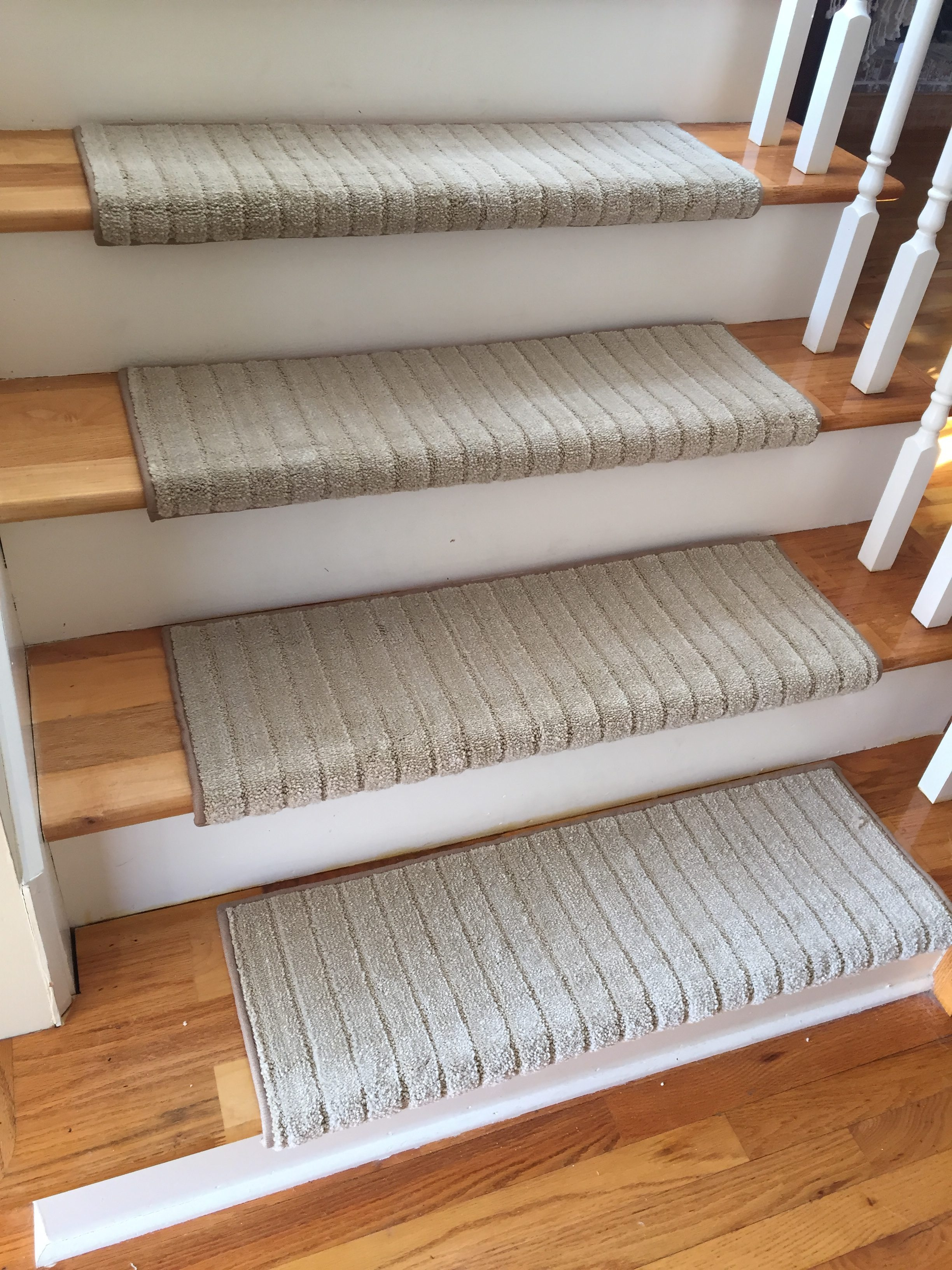 True Bullnose Carpet Stair Tread Mulberry Honey Glaze Sold Inside Wool Stair Rug Treads (Image 15 of 15)