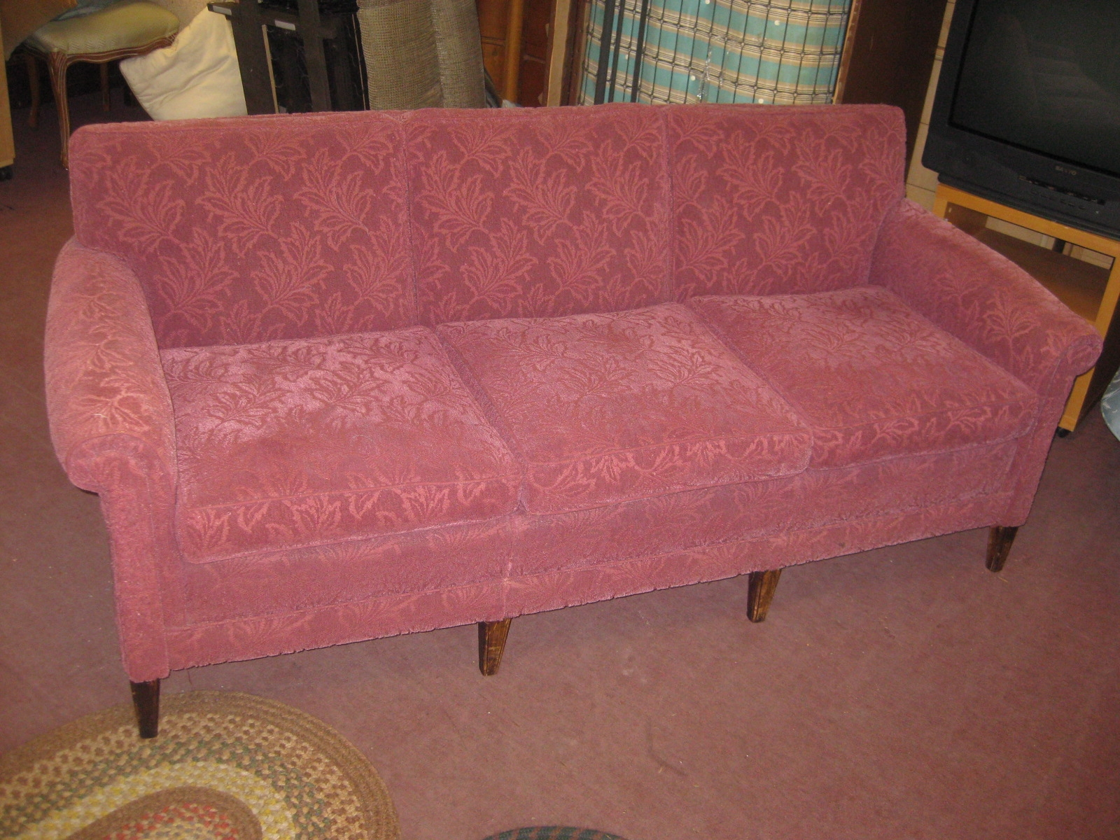 Uhuru Furniture Collectibles Sold 1930s Couch 125 Pertaining To 1930s Sofas (Image 14 of 15)