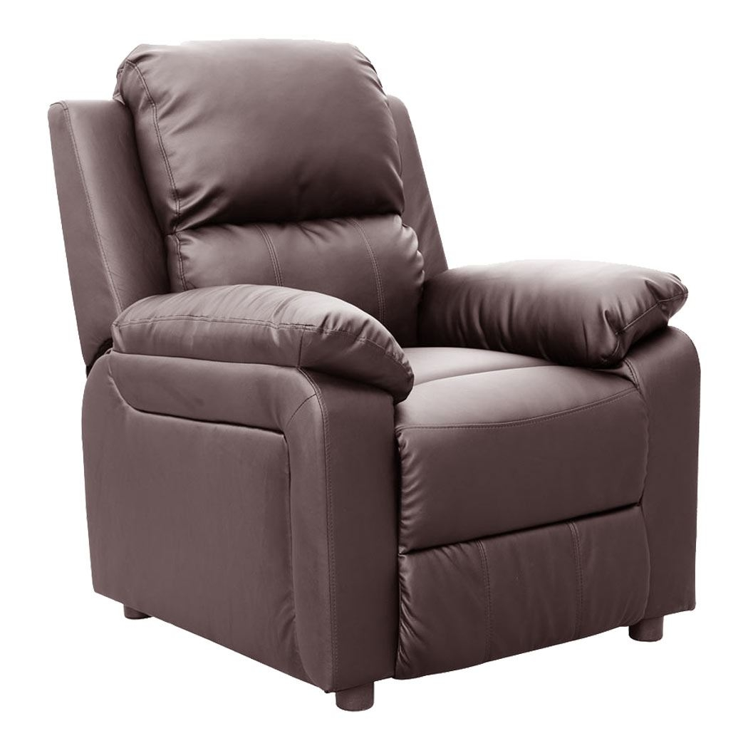 Ultimo Leather Recliner Armchair Sofa Chair Reclining Cinemo Home With Sofa Chair Recliner (Image 15 of 15)