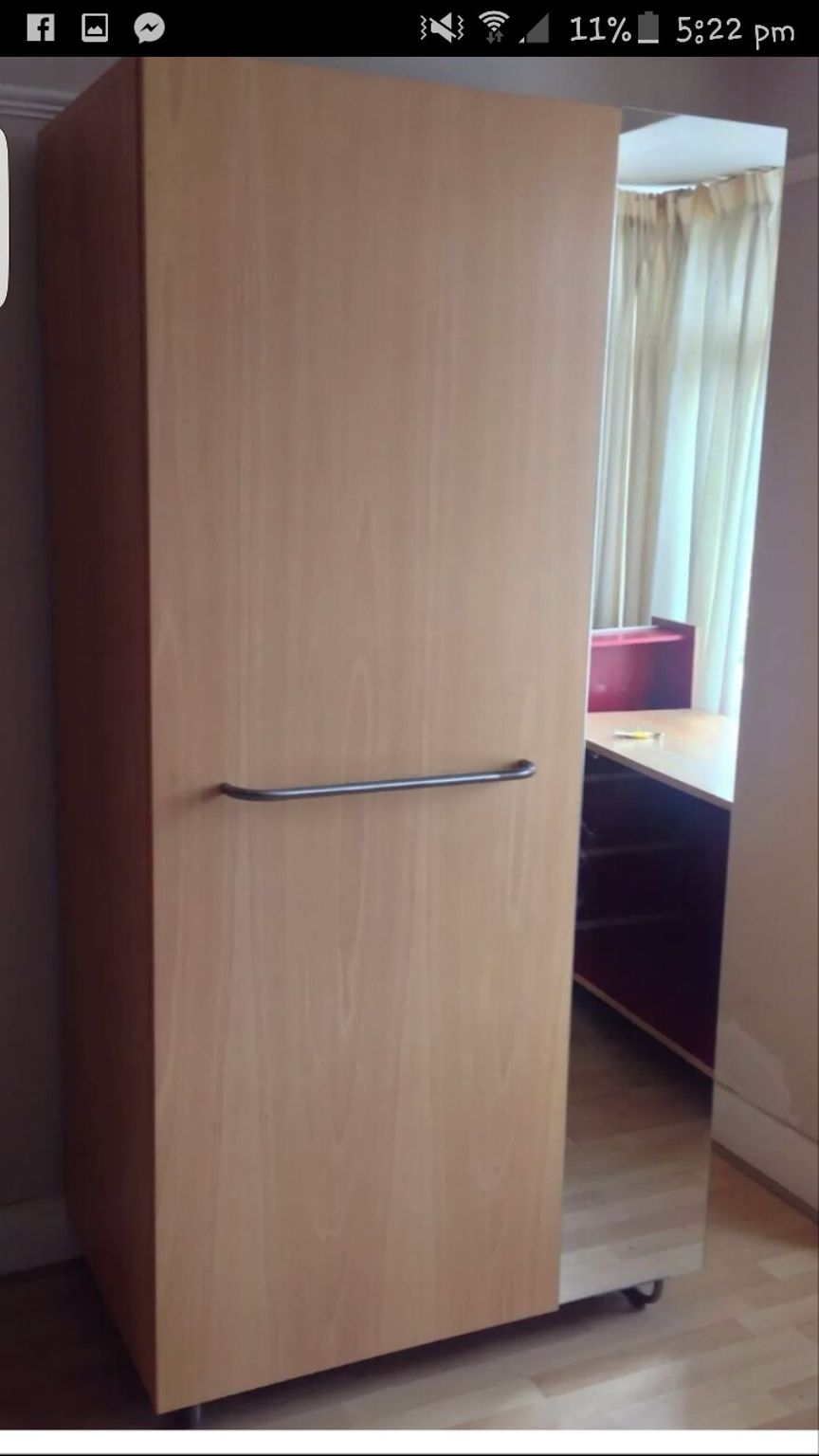 Used Habitat Double Rail Wardrobe In Rm13 Rainham For 5000 Shpock Pertaining To Double Rail Wardrobe (Image 15 of 15)