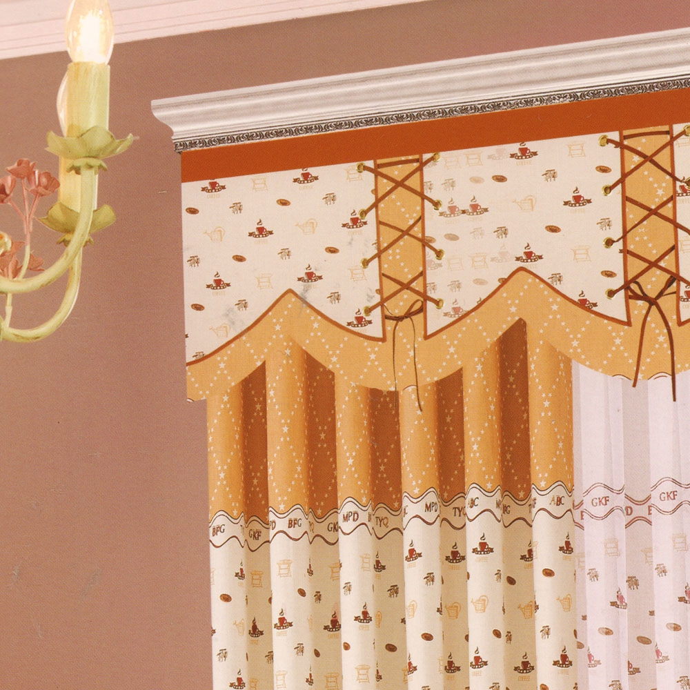 Valance Hanging Curtains Cute Patterns Vintage Inside Hanging Curtains (View 22 of 25)