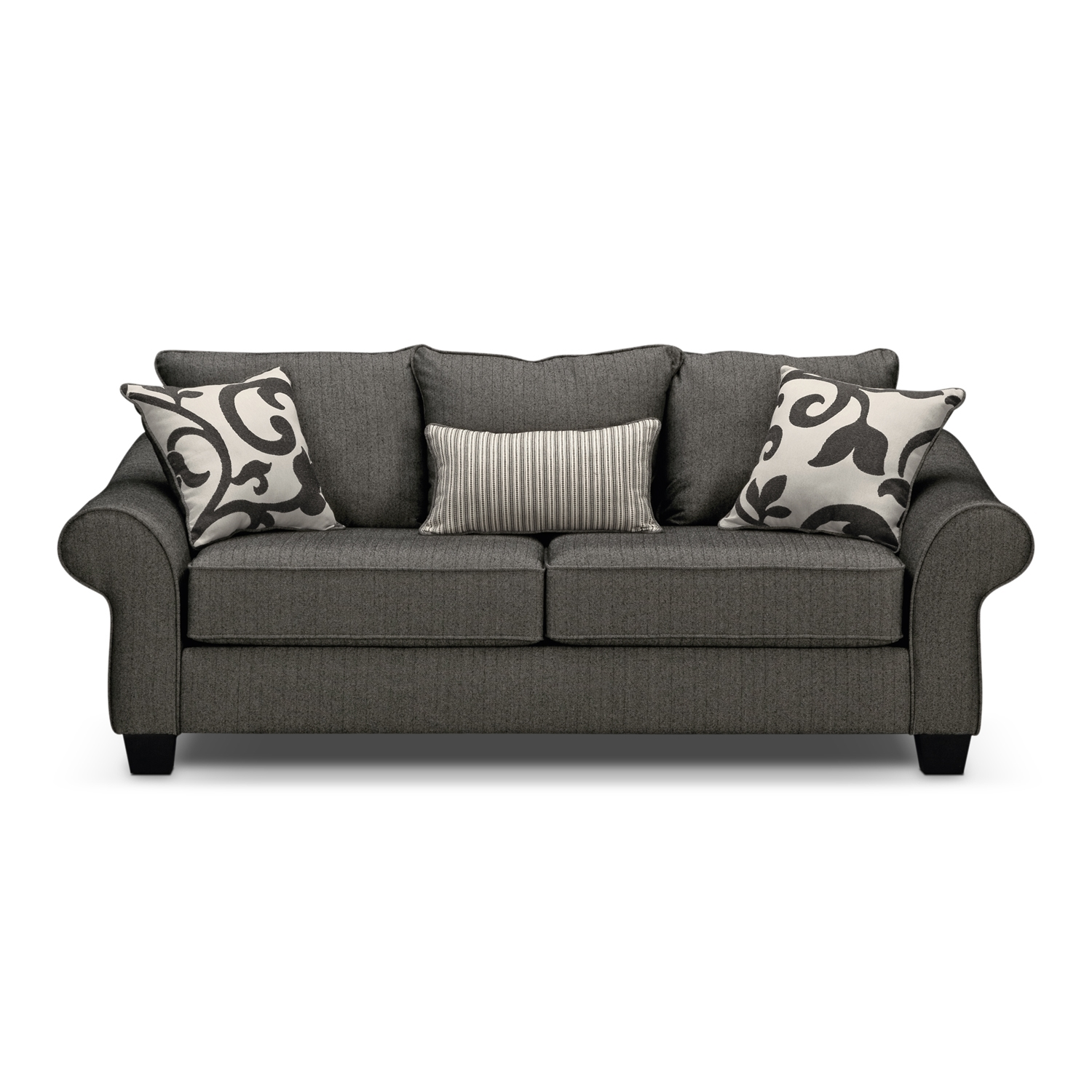 Value City Furniture Sofa Bed Inside Grey Sofa Chairs (Image 14 of 15)