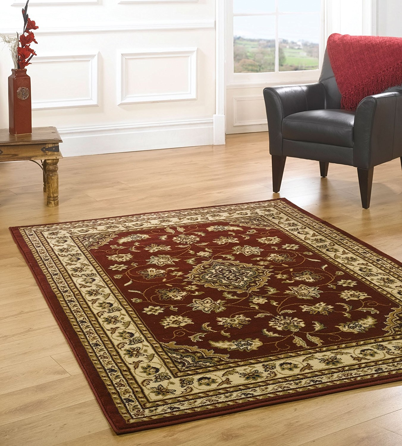 15 Best Collection Of Large Red Rugs