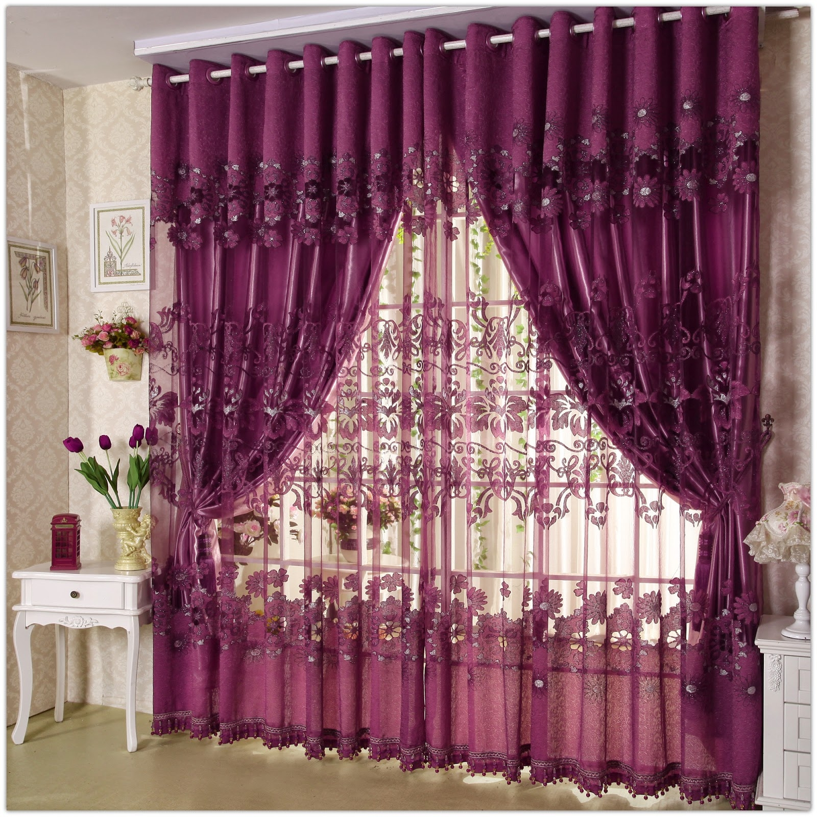 Video 3 Living Room Drapery Design Youtube Unusual Ways To Use For Inexpensive Curtains For Large Windows (Image 22 of 25)