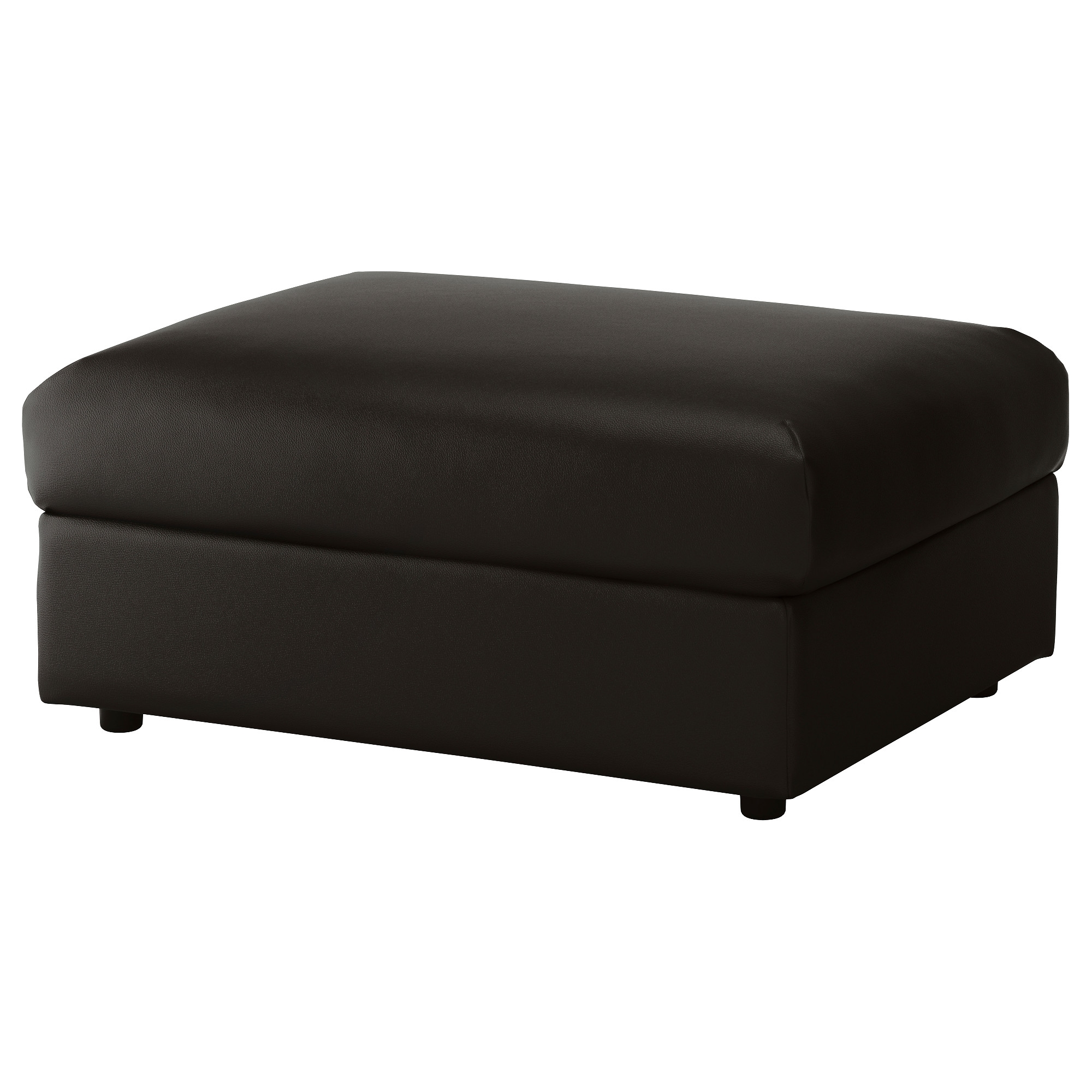 Vimle Footstool With Storage Farsta Black Ikea In Footstools And Pouffes With Storage (Image 14 of 15)
