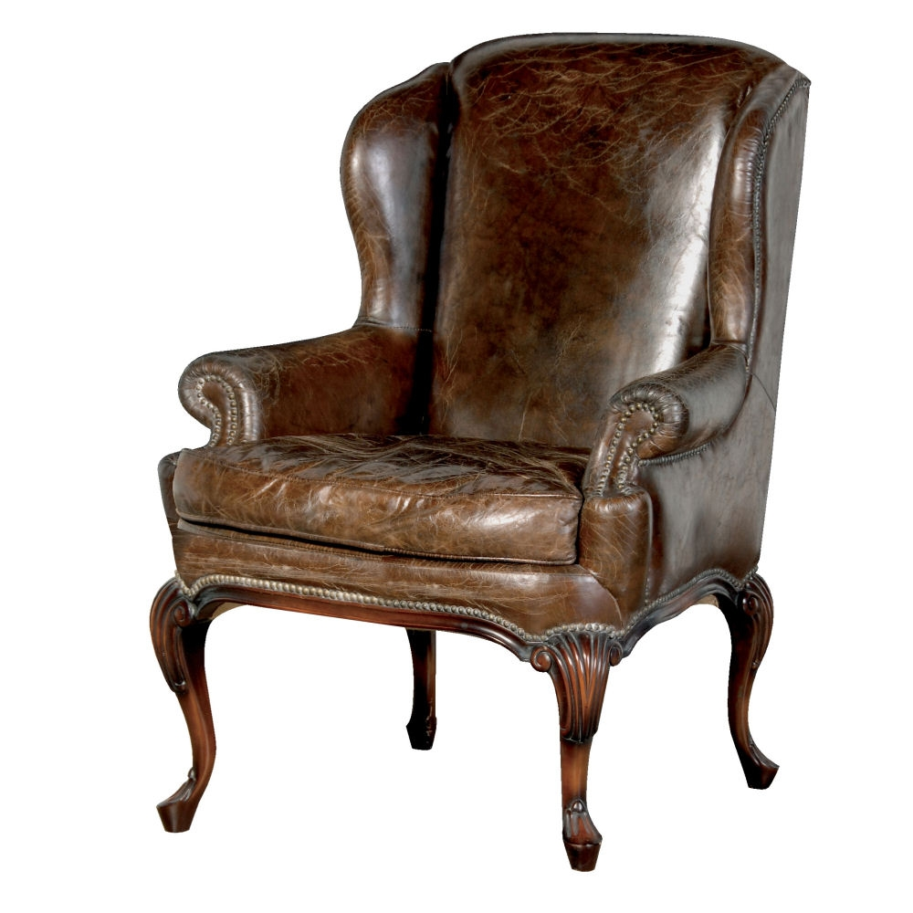 Vintage Arm Chair Within Vintage Leather Armchairs (Image 11 of 15)