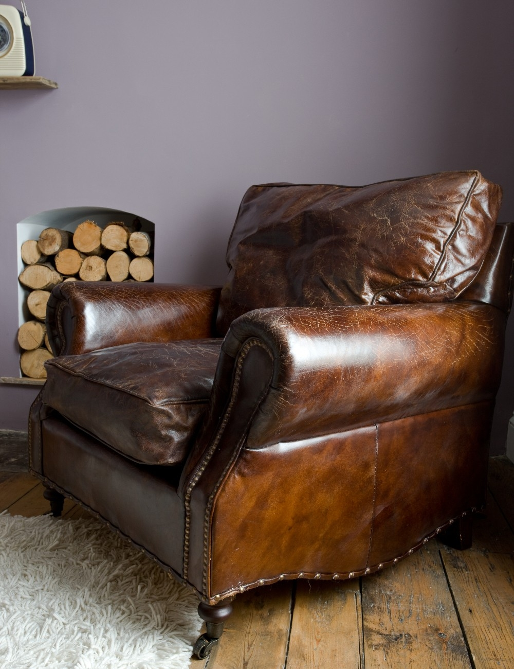Featured Image of Vintage Leather Armchairs