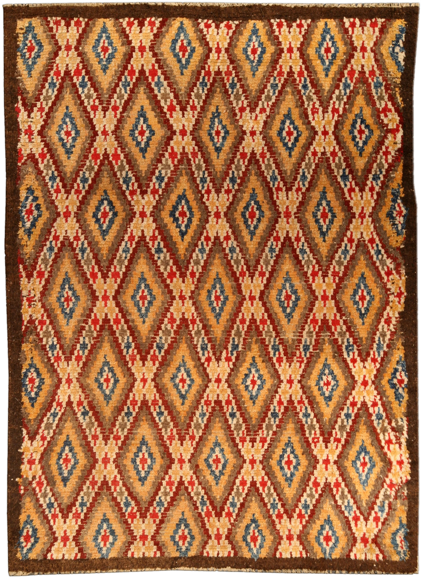Vintage Moroccan Rug Bb4550 Doris Leslie Blau Regarding Moroccan Rugs (Image 11 of 15)