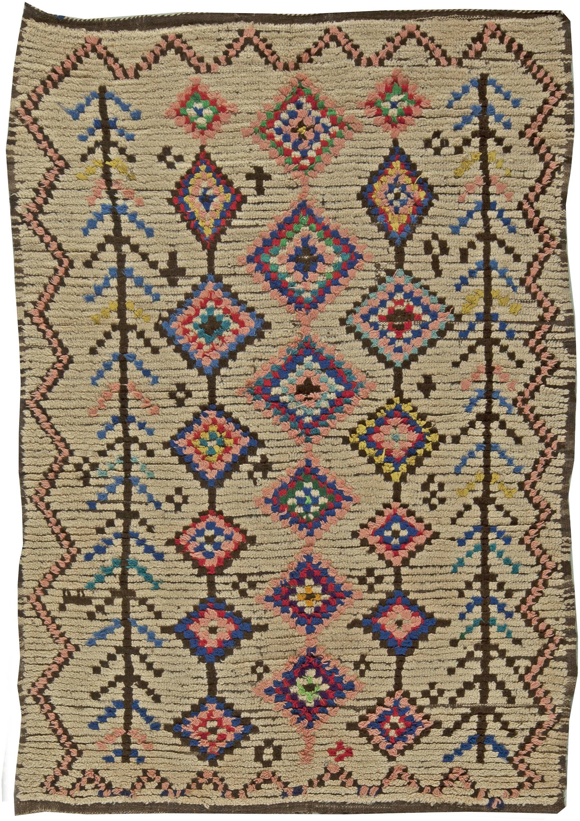 Vintage Moroccan Rug Bb5900 Doris Leslie Blau Pertaining To Moroccan Rugs (Image 12 of 15)