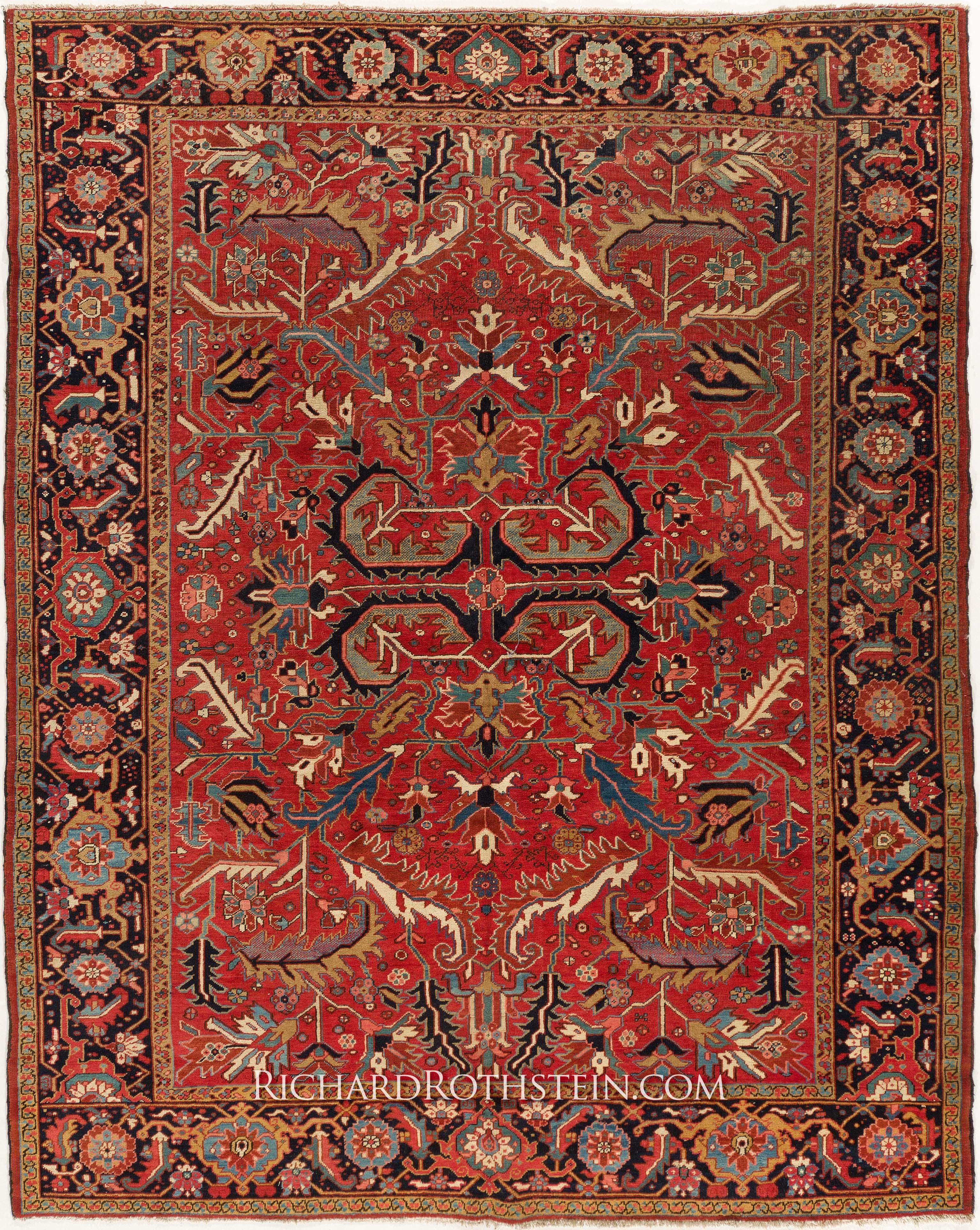 Vintage Oriental Rug Roselawnlutheran Inside Oriental Persian Rugs (Image 14 of 15)