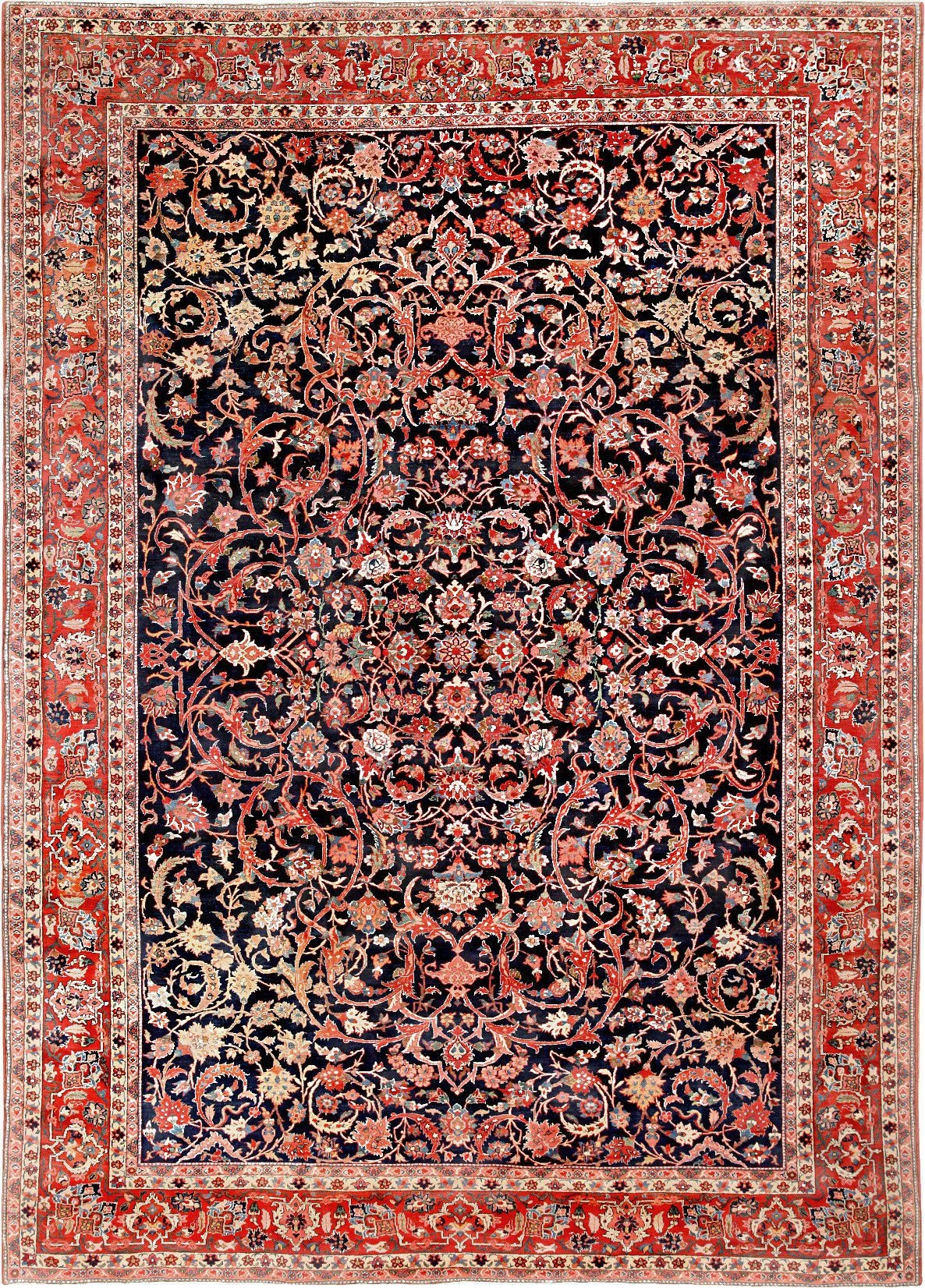 Vintage Persian Bidjar Rug 46734 Nazmiyal In Persian Rugs (Image 15 of 15)