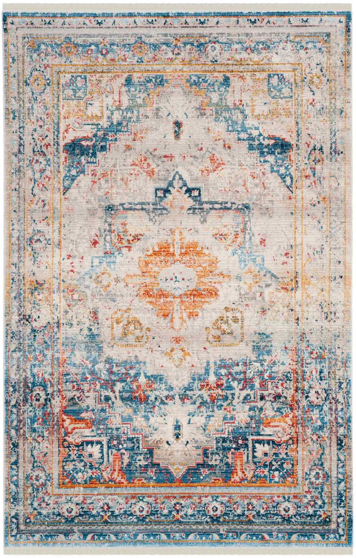 Vintage Persian Rugs Trending New Area Rug Safavieh For Blue Persian Rugs (View 15 of 15)