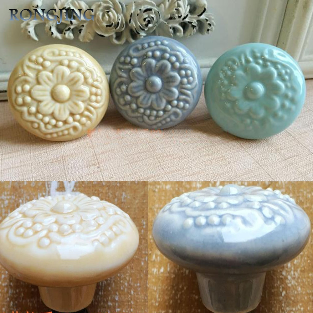 Vintage Porcelain Drawer Knobs Promotion Shop For Promotional Pertaining To Porcelain Cupboard Knobs (Image 24 of 25)