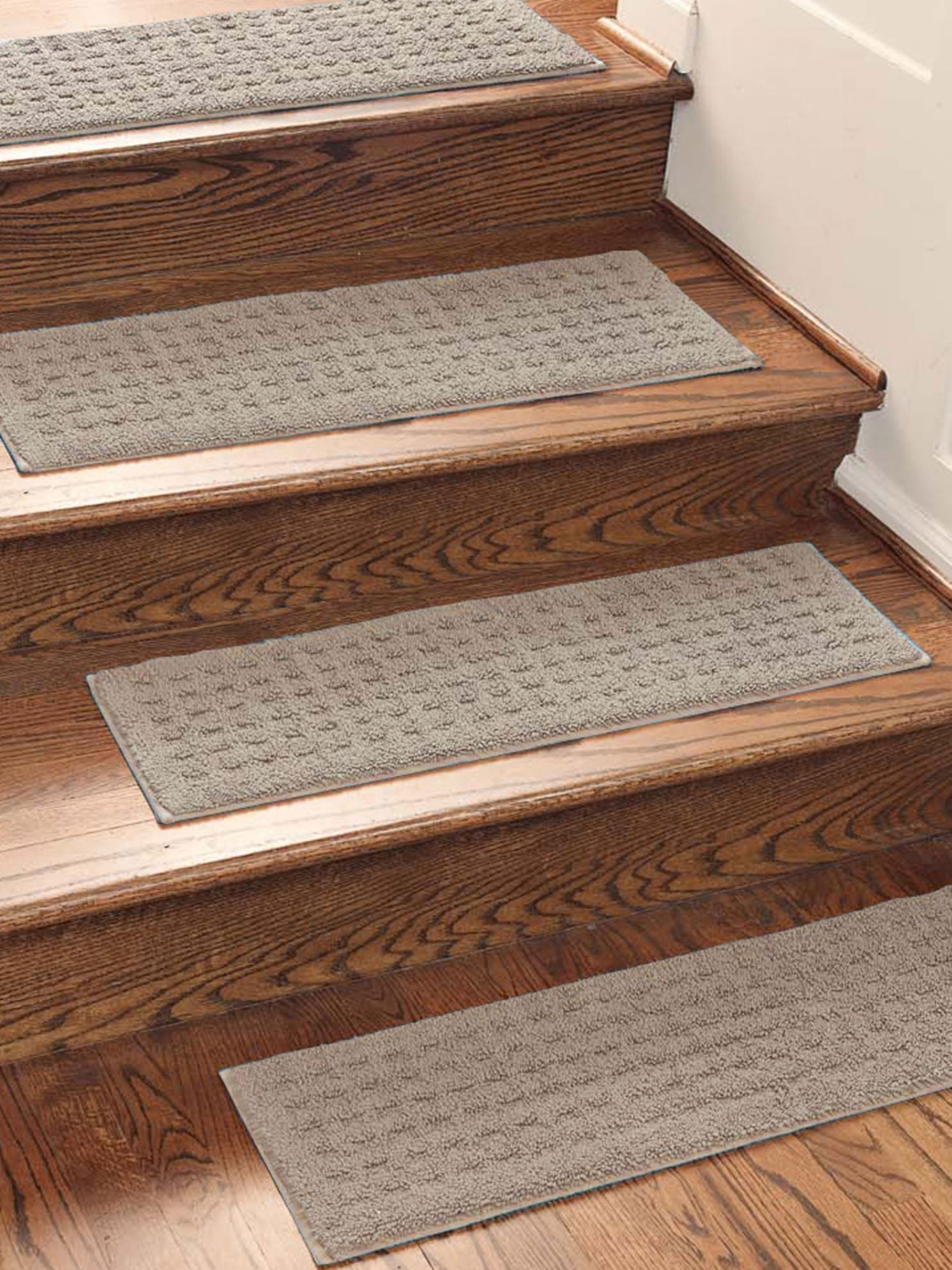 Vista Rug Nonslip Indoor Rug Stair Treads Solutions Places In Basket Weave Washable Indoor Stair Tread Rugs (Image 14 of 15)