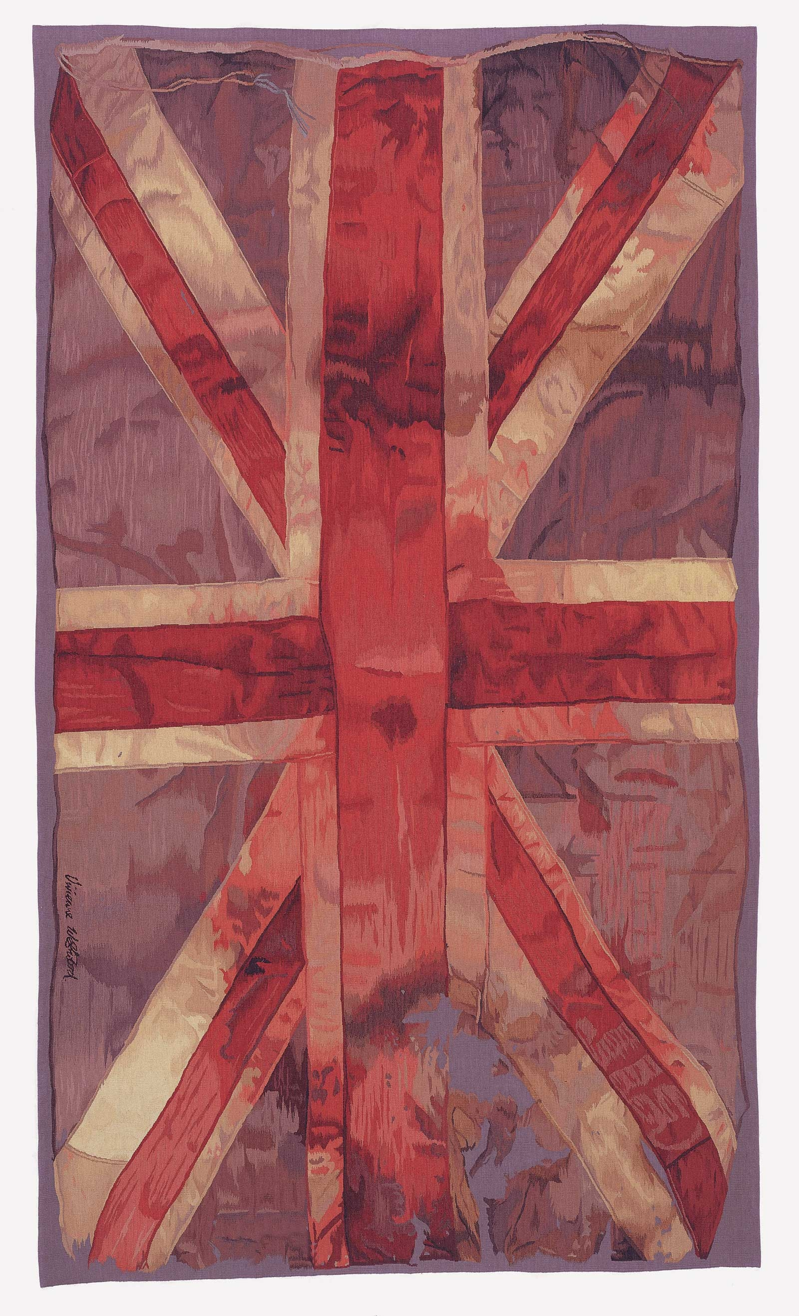 Vw Flag Vivienne Westwood The Rug Company With Regard To British Flag Rugs (Image 13 of 15)