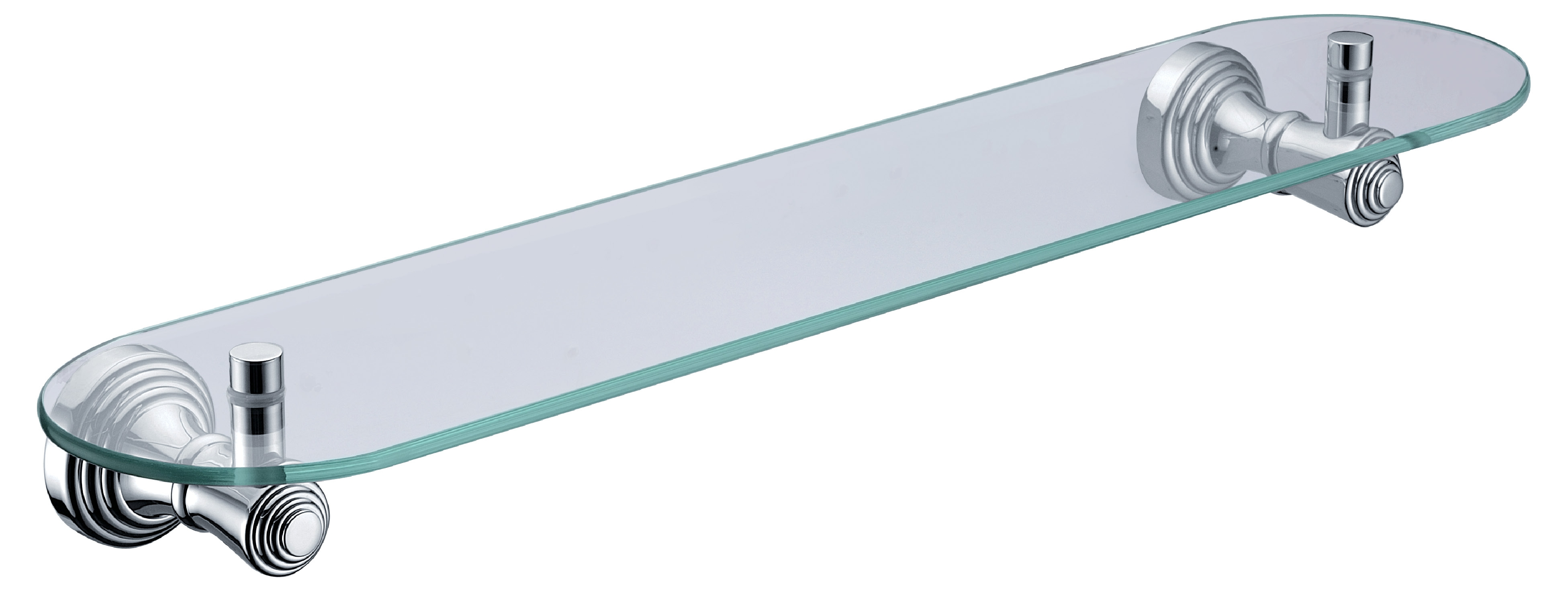 Wall Mounted Glass Shelf In Bathroom Accessoriesglass Shelf Within Glass Shelf Brackets Floating On Air (Image 14 of 15)