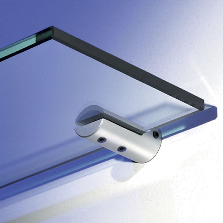 Wall Mounted Glass Shelves Cymun Designs Pertaining To Wall Mounted Glass Shelf (Image 10 of 15)