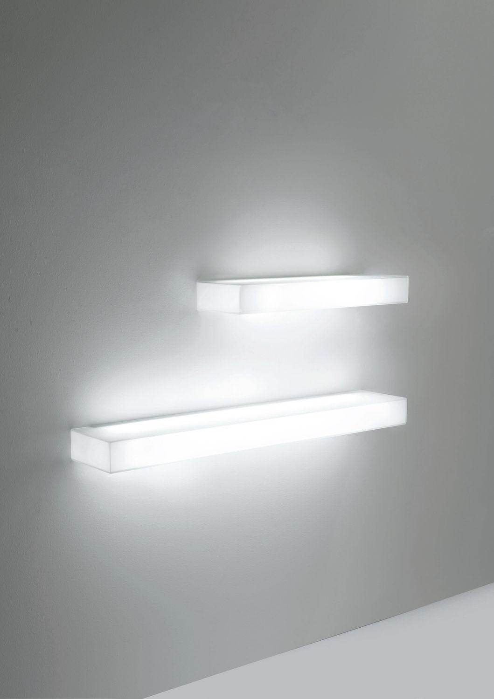 Wall Mounted Shelf Contemporary Glass Illuminated Light With Illuminated Glass Shelves (View 6 of 15)