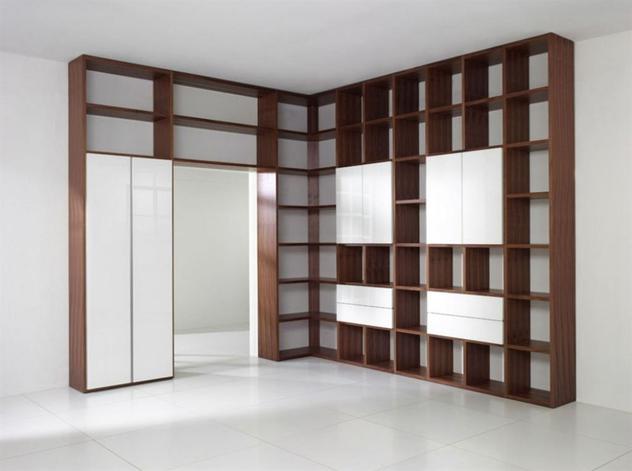 Wall Shelves Design Best Collection Wall Shelving Units Uk Tall In Large Cupboard With Shelves (Image 25 of 25)