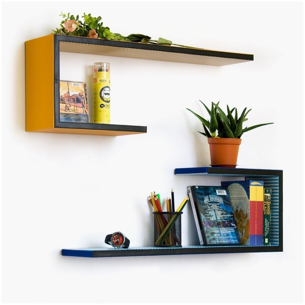 Wall Shelves Design Decorative Wall Mounted Shelving Units Towek Throughout Wall Mounted Shelves (Image 14 of 15)