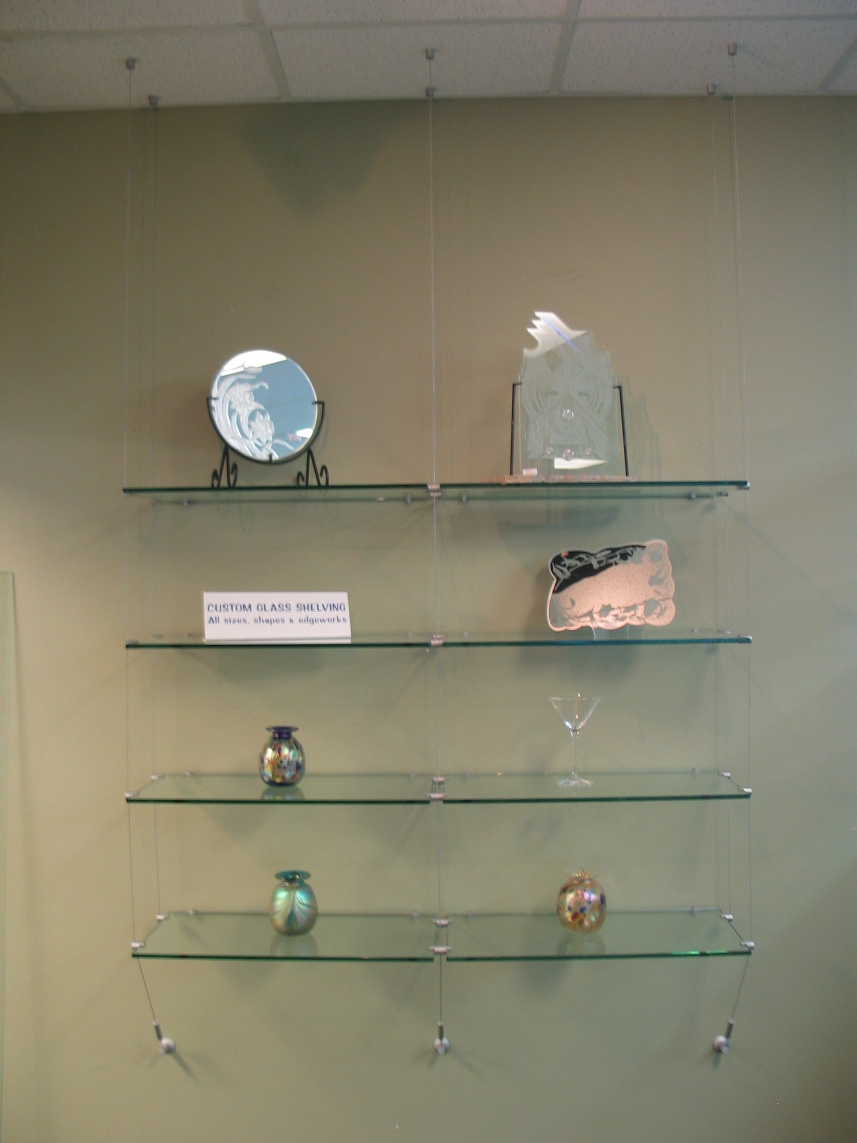 Wall Shelves Design New Collection Floating Glass Shelves Wall With Regard To Floating Glass Shelves (Image 14 of 15)