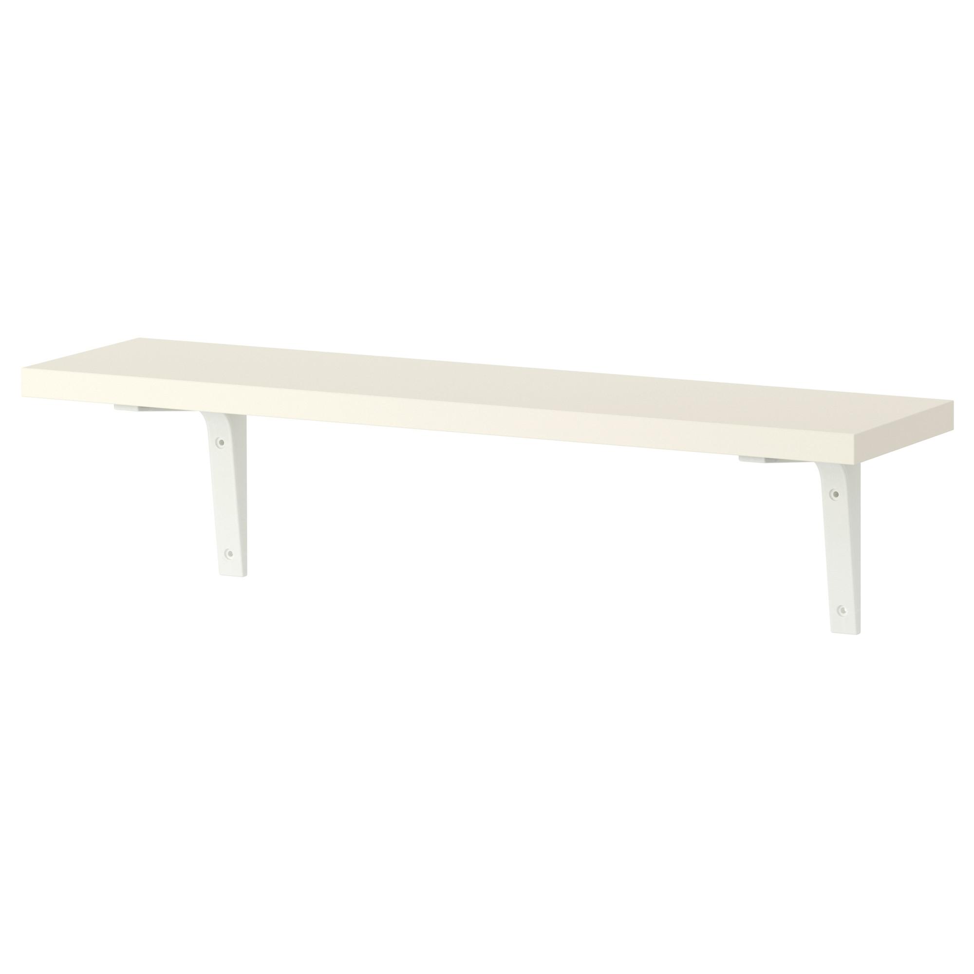 Wall Shelves Shelf Brackets Ikea Intended For Wall Shelf (Image 14 of 15)