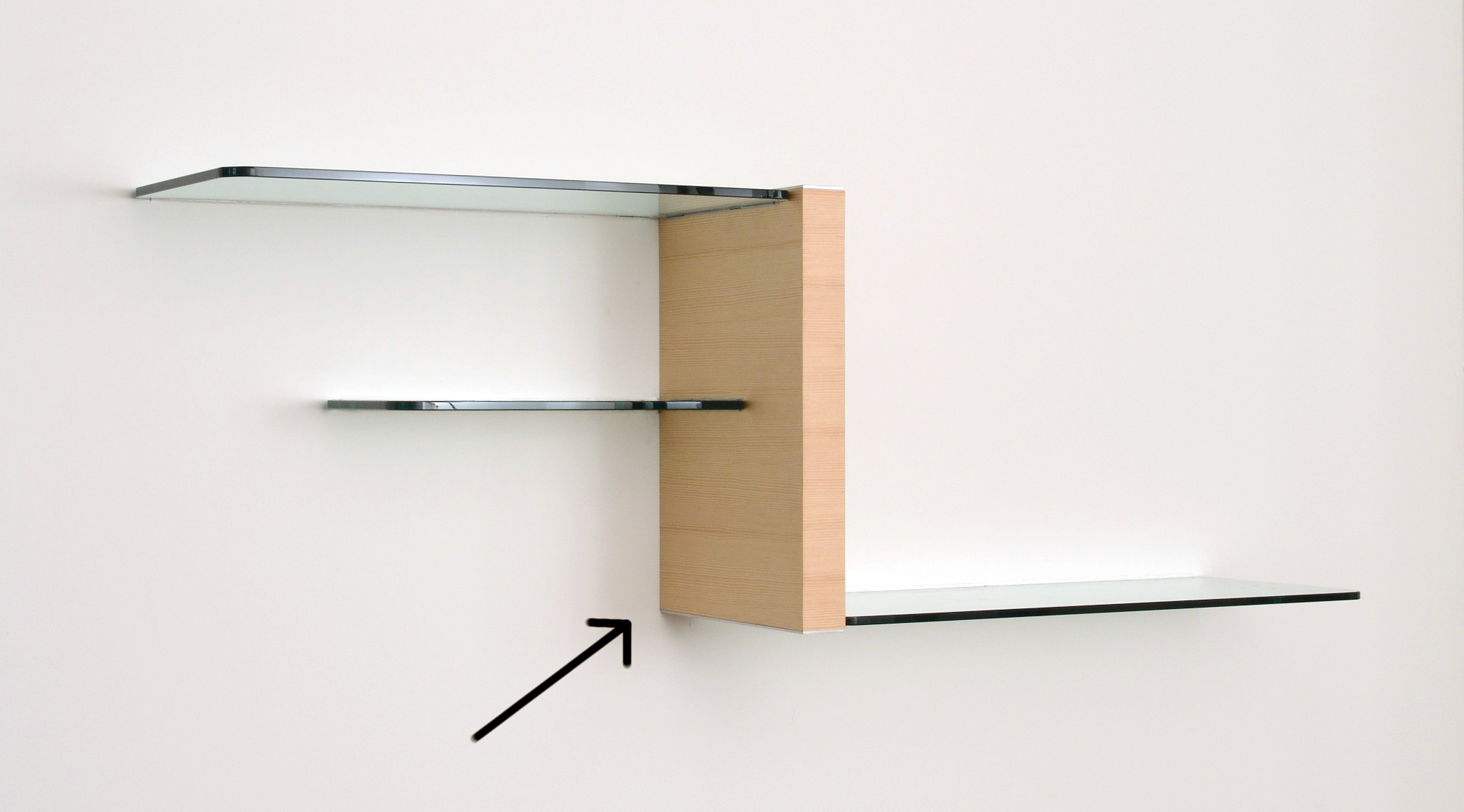 Wall Units Glass Shelving For Floating Glass Shelves (Image 15 of 15)