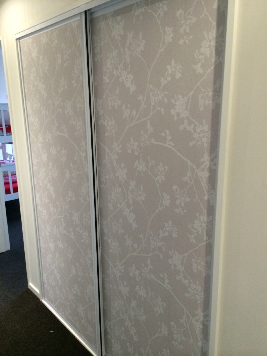 Wallpaper Wardrobe Doors Great For A Hallway Wallpaper Inside Hallway Cupboard Doors (Image 25 of 25)