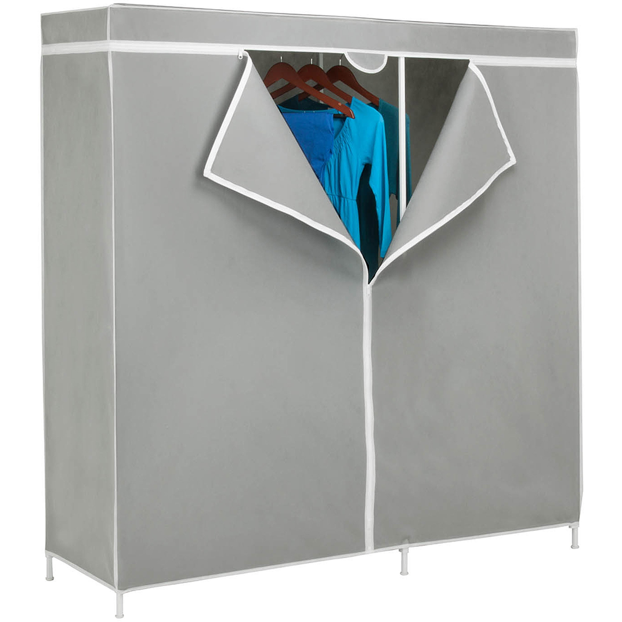 Wardrobe Closets Pertaining To Mobile Wardrobe Cabinets (Image 24 of 25)