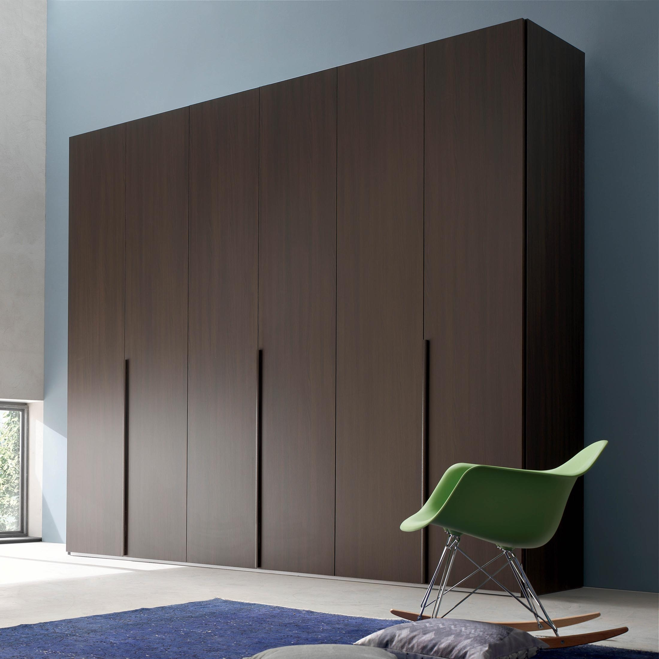 Wardrobe Wall Maronese Comes In Different Sizes 4 5 6 Door Inside Wall Wardrobes (Image 13 of 15)