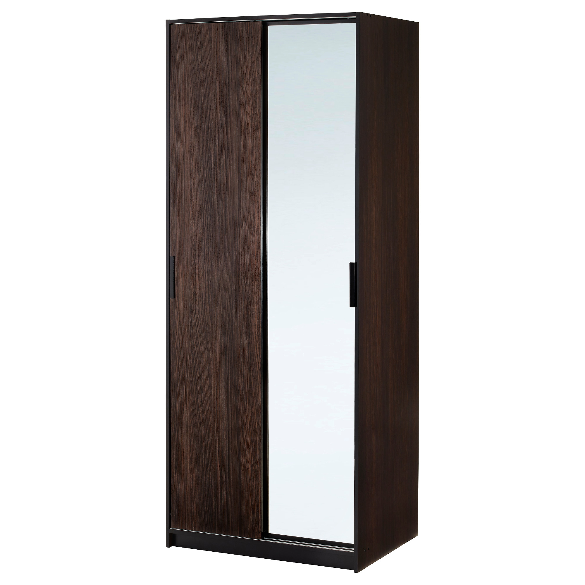 Wardrobes Armoires Closets Ikea With Regard To Solid Dark Wood Wardrobes (Image 15 of 15)