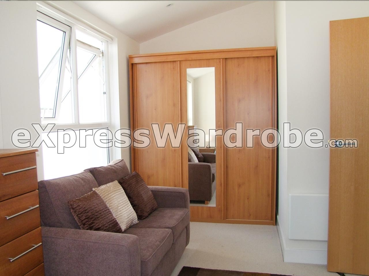 Wardrobes Flat Pack Wardrobes Sliding Door Wardrobes Free Pertaining To Sliding Door Wardrobes (Image 24 of 25)