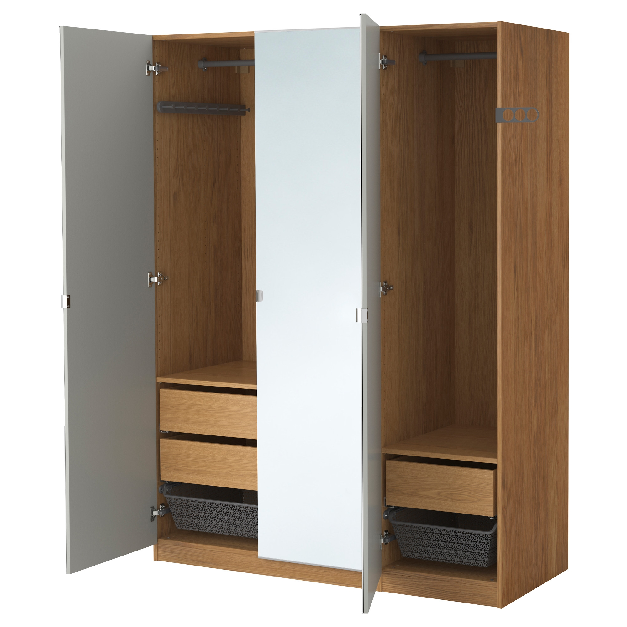 Bedroom Closets And Wardrobes: Corner Wardrobe Closet IKEA