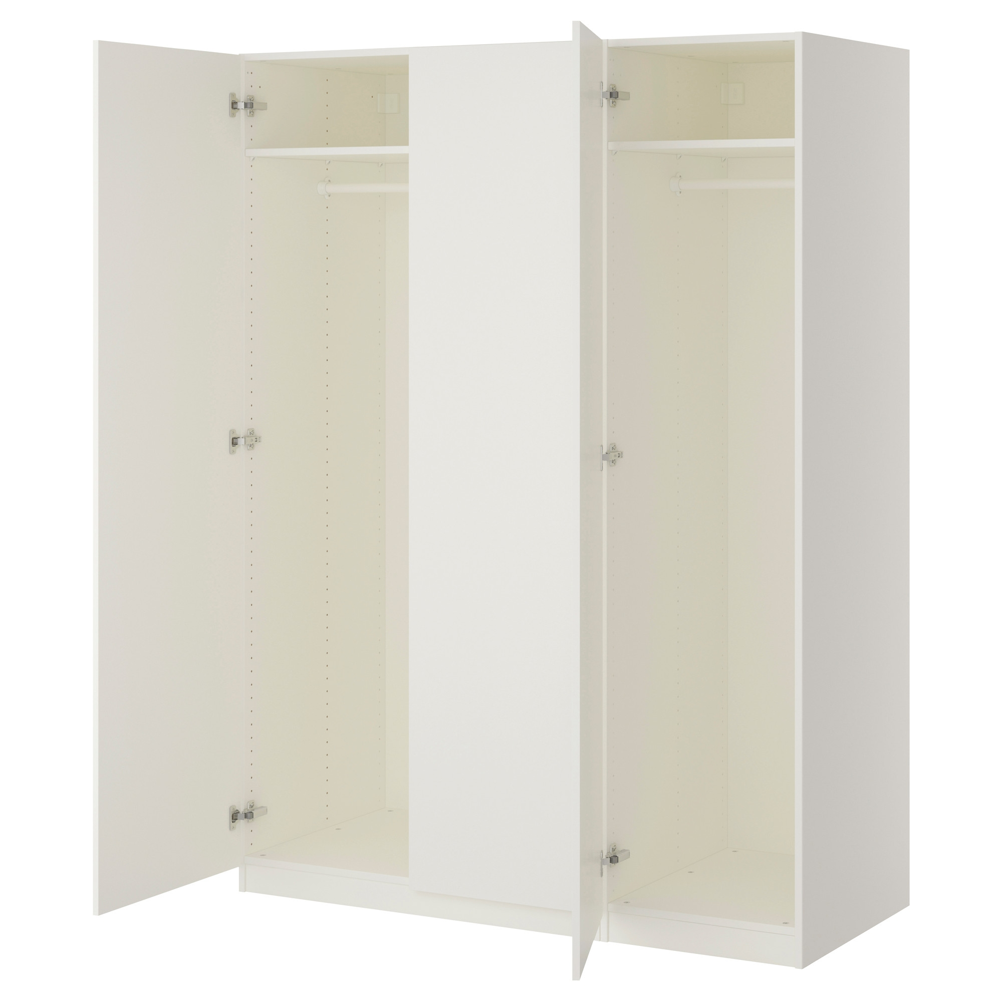 Wardrobes Pax System Ikea Throughout Fitted Wardrobe Depth (View 12 of 15)