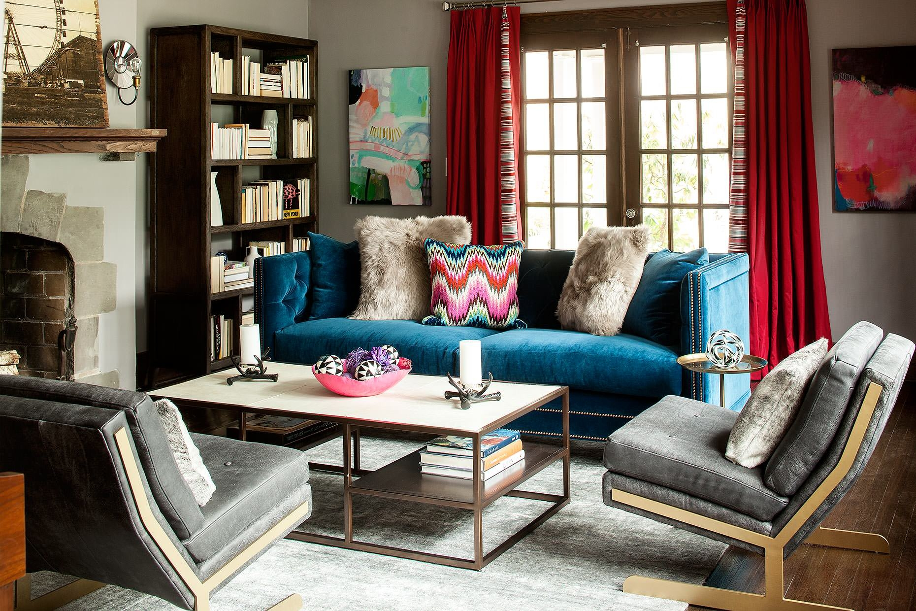 Which Type Of Velvet Sofa Should You For Your Home With Regard To Colorful Sofas