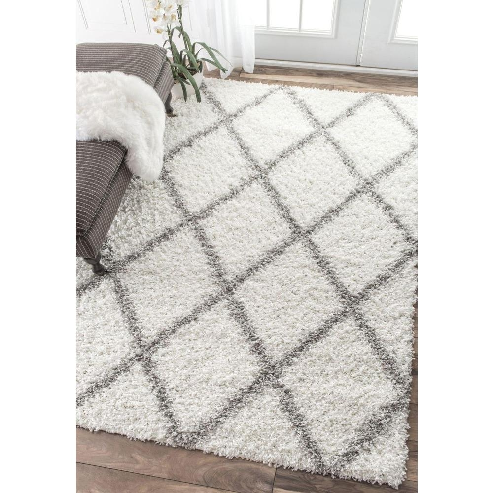 White And Grey Rugs Roselawnlutheran Throughout Light Grey And White Rugs (Image 12 of 15)