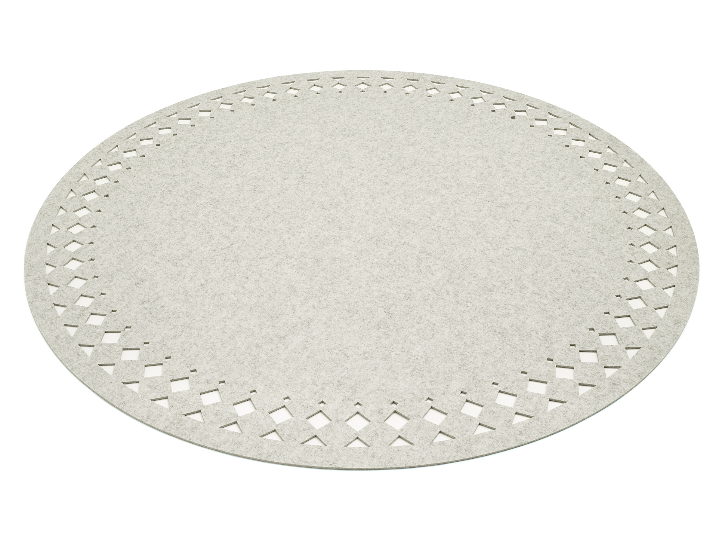 White Round Rug Home Decors Collection With Rounds Rugs (Image 15 of 15)