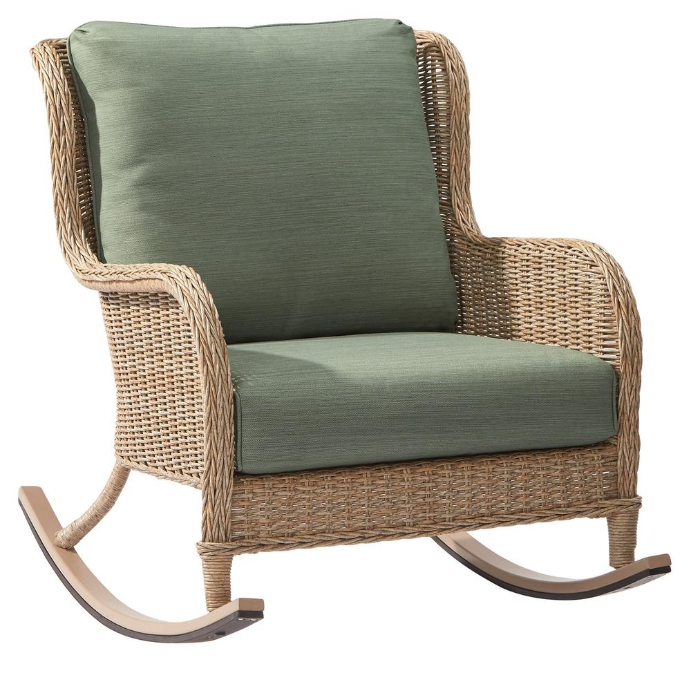 Wicker Patio Furniture Rocking Chairs Patio Chairs The Home Within Sofa Rocking Chairs (Image 15 of 15)