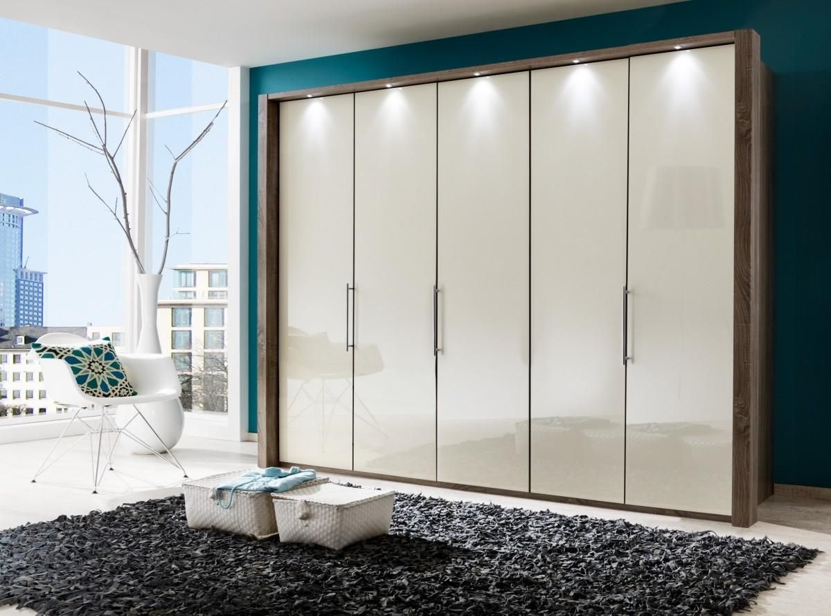Wiemann Loft 8 Door Wardrobe With Bi Fold Panorama Doors Now In 2 In Folding Door Wardrobes (View 21 of 25)