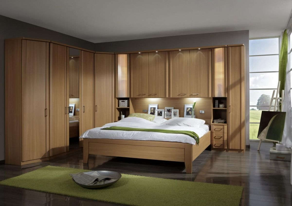 Wiemann Luxor 4 Overbed Unit With 33cm Straight Doors And Drawers Pertaining To Overbed Wardrobes (Image 25 of 25)