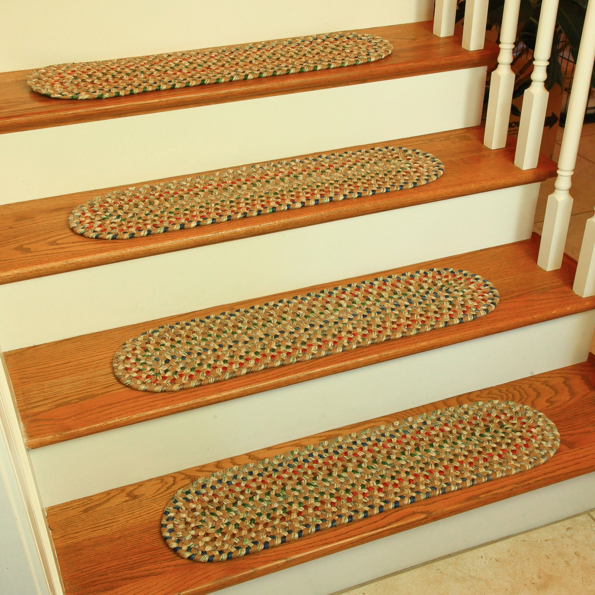 Wildon Home Brown Stair Tread Reviews Wayfair With Regard To Brown Stair Treads (Image 15 of 15)