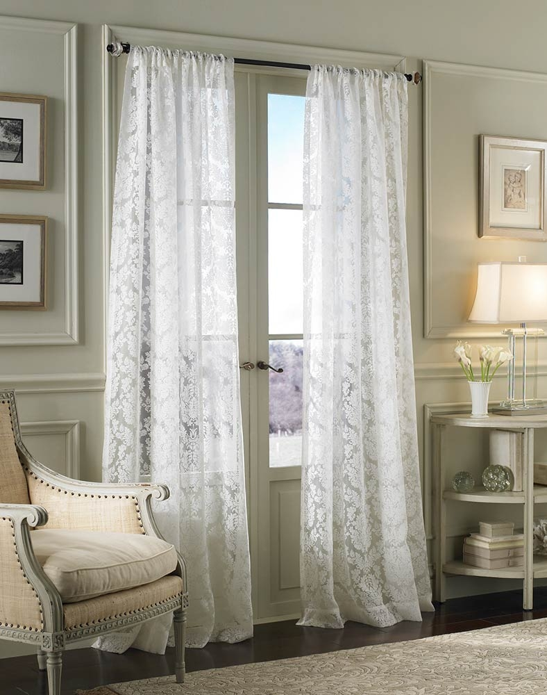 Window Cute Windows Decor Ideas With Window Sheers Lamosquitia Regarding Sheer White Curtain Panels (Image 24 of 25)
