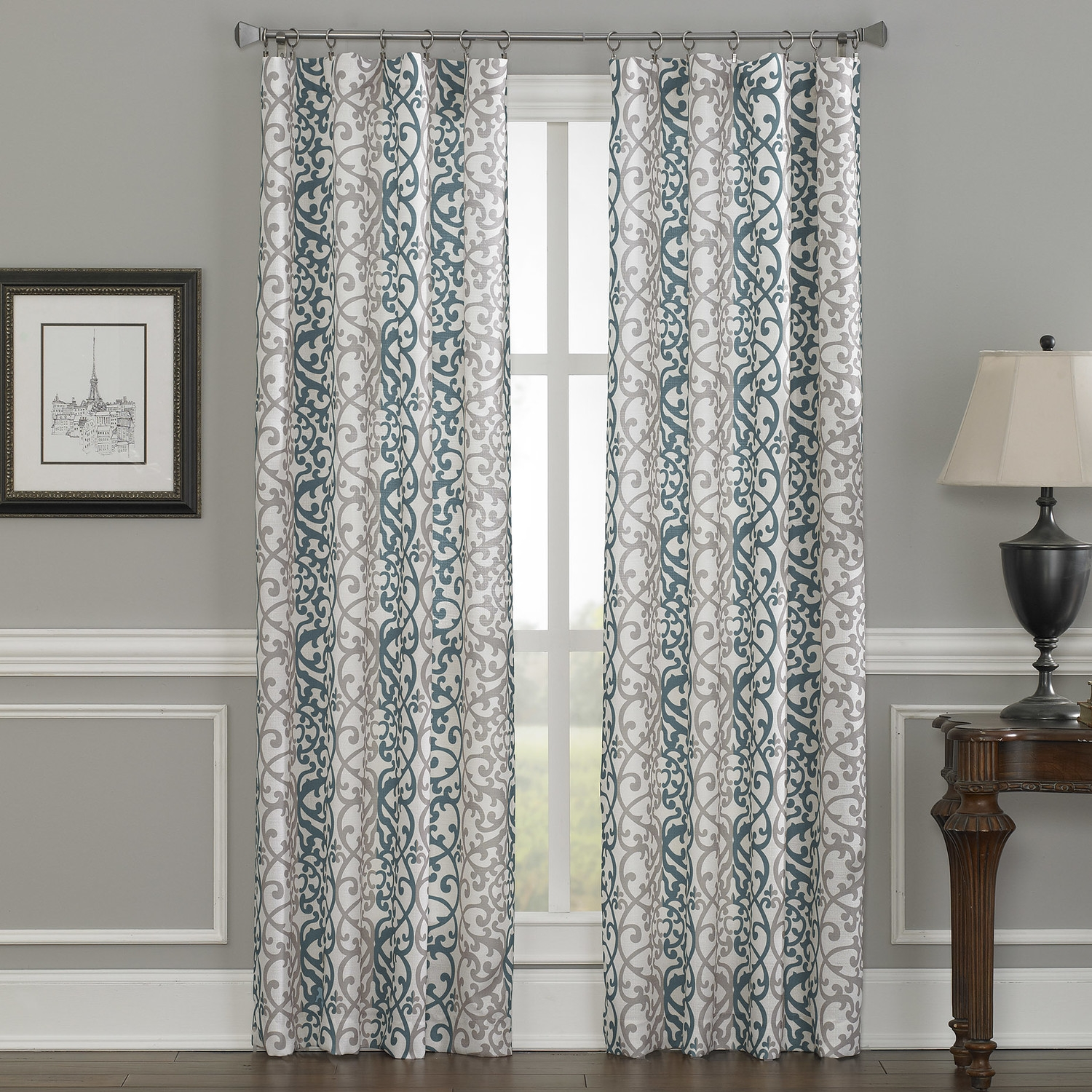 25 Double Panel Shower Curtains Curtain Ideas