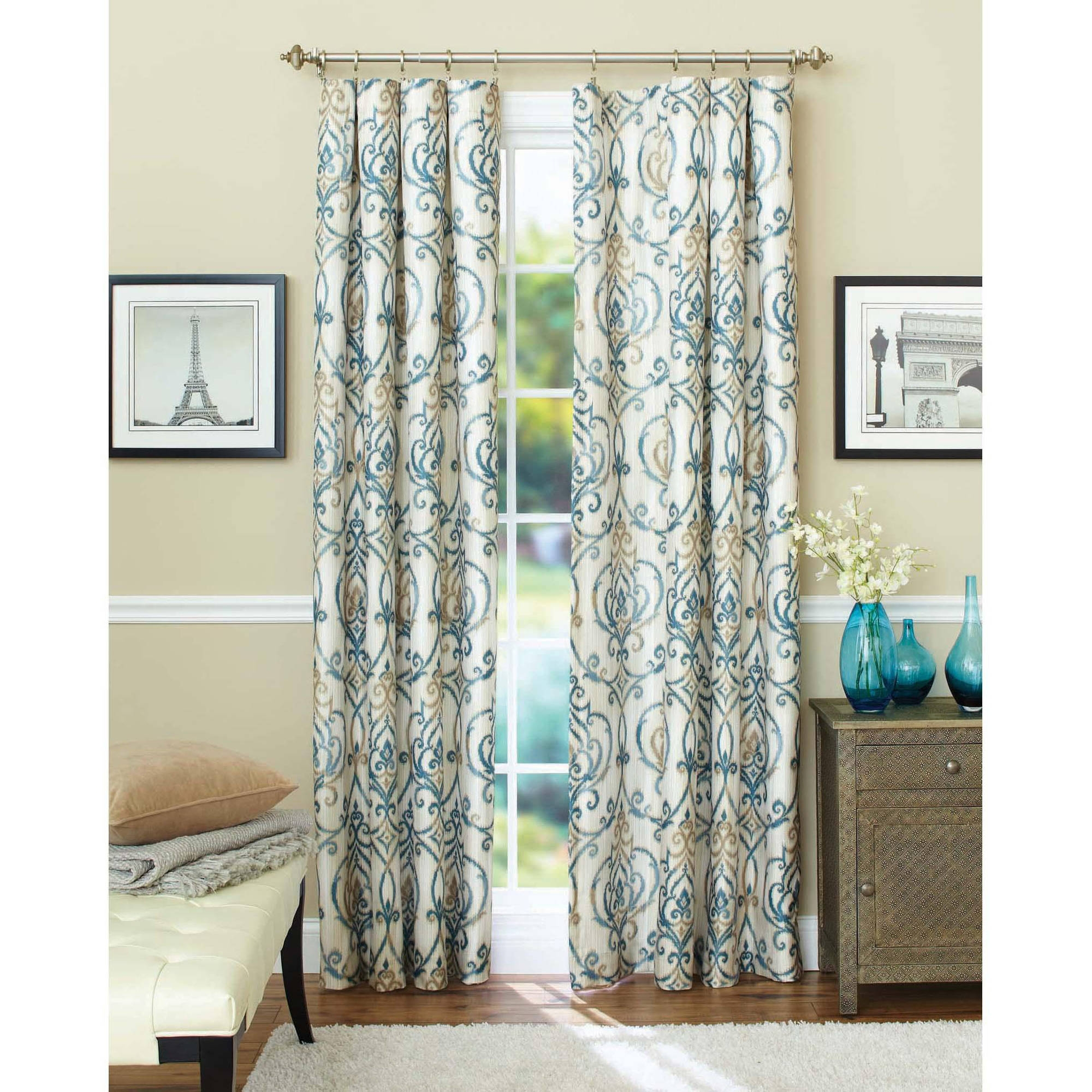 Window Dress Up Your Windows With Best Walmart Curtain Design Within Curtains Windows (Image 25 of 25)