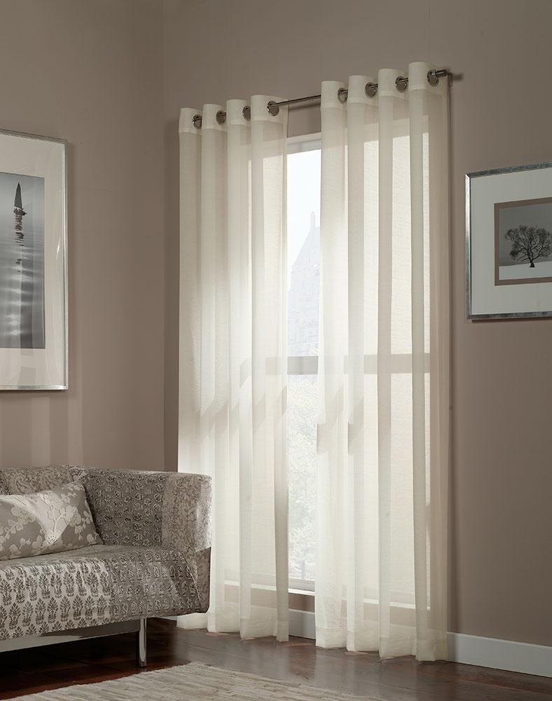 Window Sheer Bedroom Curtains Window Sheers Sheer Panel Curtains Throughout Curtains Sheers (Image 24 of 25)