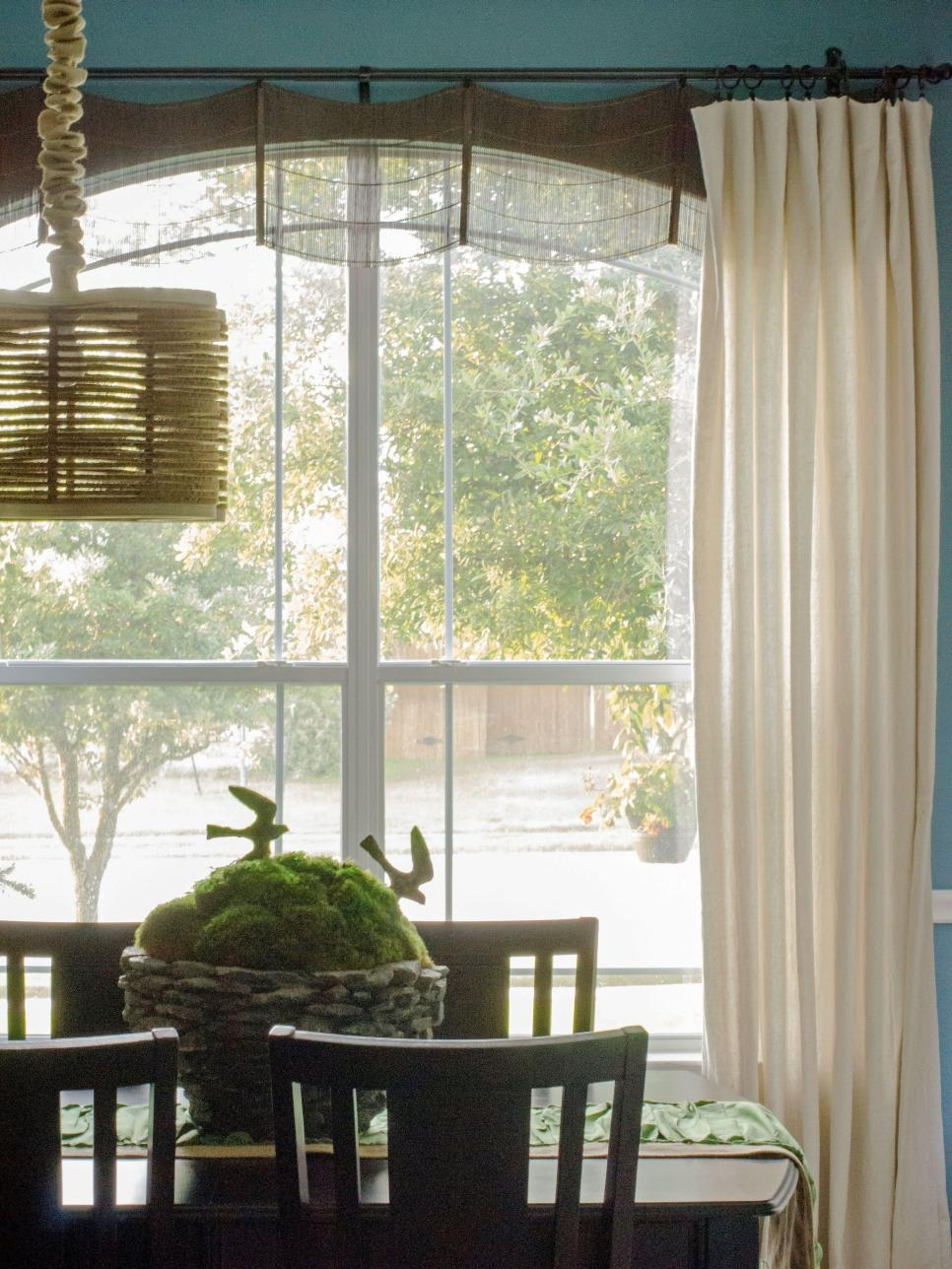 Window Treatment Ideas Hgtv With Inexpensive Curtains For Large Windows (Image 25 of 25)