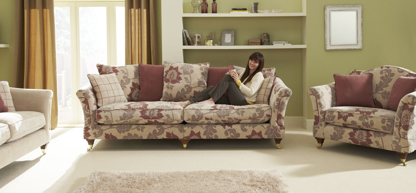 Windsor 4 Seater Sofa Scatter Back Ideas For The House Regarding Windsor Sofas (Image 8 of 15)