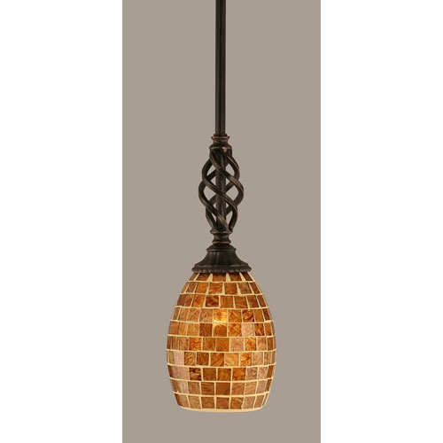 Wonderful Best Brown Glass Pendant Lights Regarding Brown Mini Pendant Lighting Bellacor (Image 24 of 25)