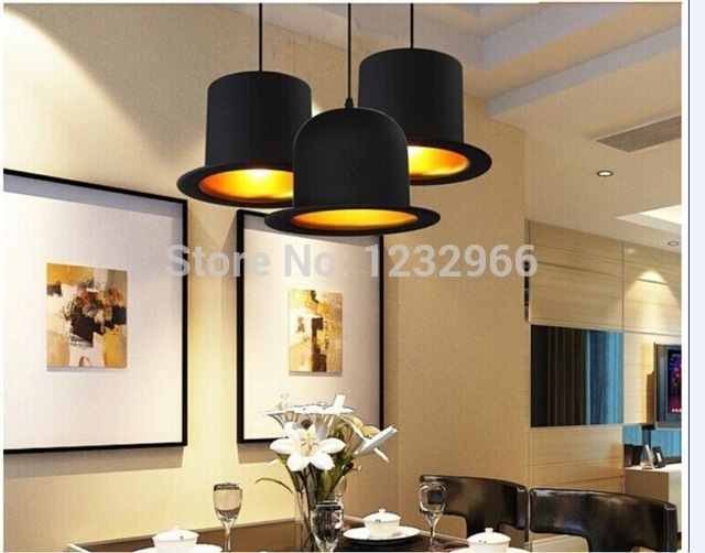 Wonderful Best Jeeves And Wooster Pendant Lights With Regard To Aliexpress Buy 2014 New E27 Pendant Lamp Aluminum Bowler Hat (Image 24 of 25)